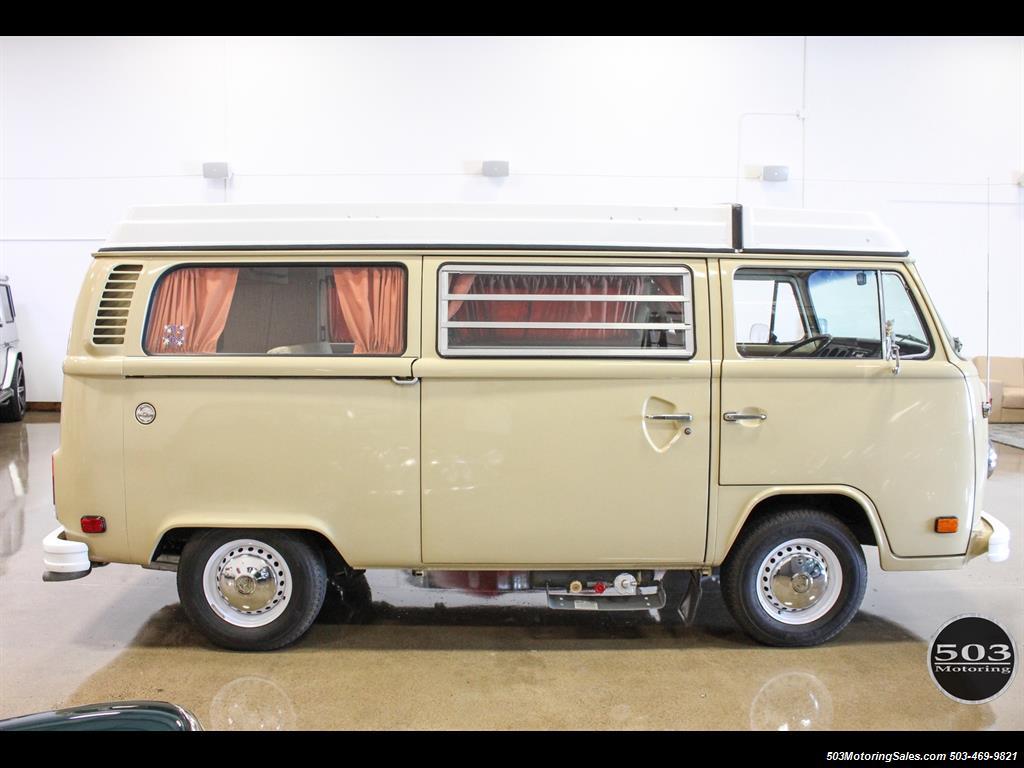 1978 Volkswagen Bus Vanagon Westfalia