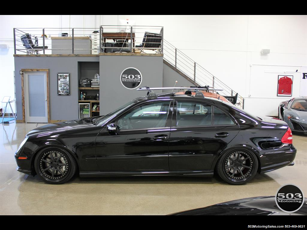 2006 Mercedes Benz E55 AMG; Immaculate Black/Black W/ Only 35k Miles