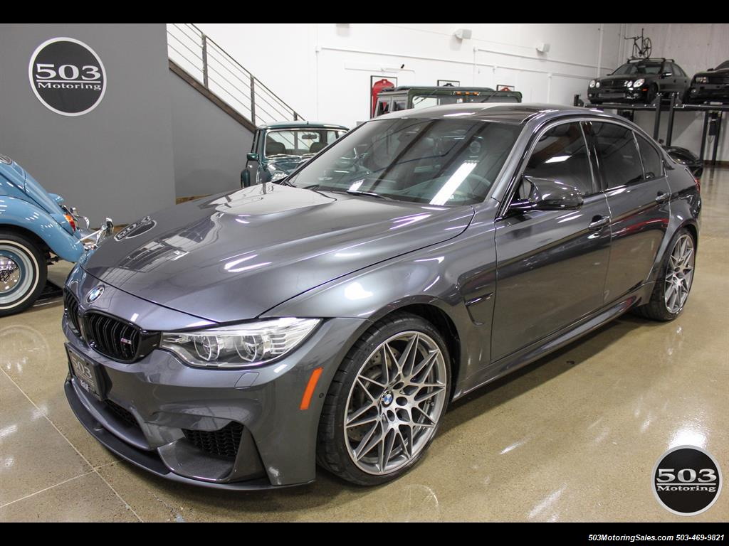 2017 Bmw M3 Loaded Compeion Package W 87k Msrp Photo 1