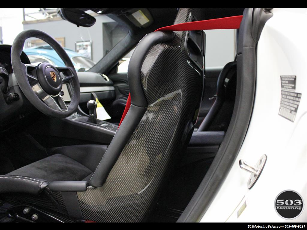 2016 Porsche Cayman GT4; White w/ Full Bucket Seats & 3k Miles! - Photo 39 - Beaverton, OR 97005