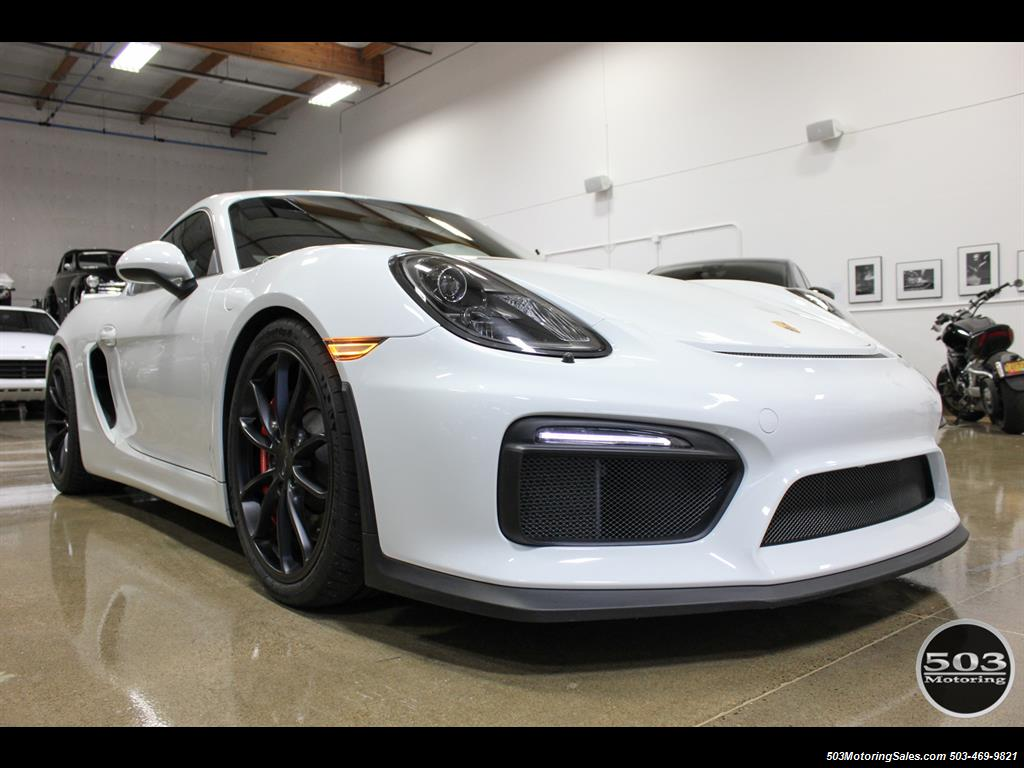2016 Porsche Cayman GT4; White w/ Full Bucket Seats & 3k Miles! - Photo 9 - Beaverton, OR 97005