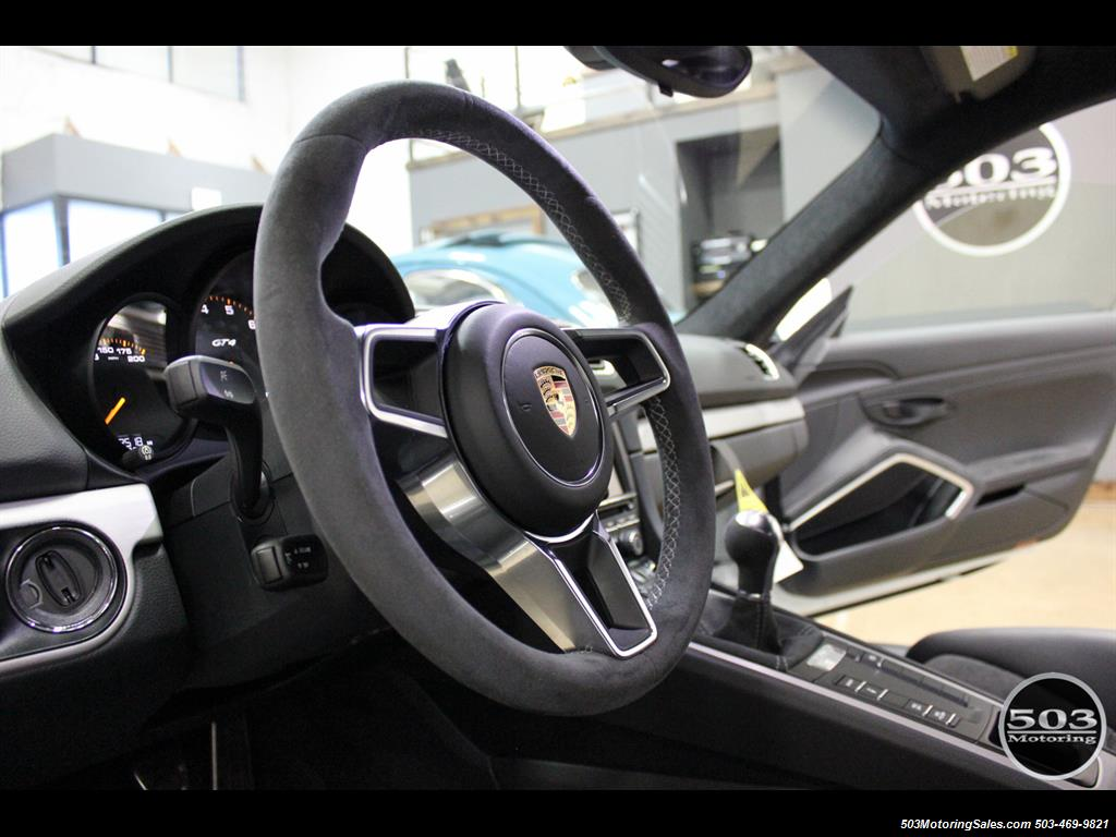 2016 Porsche Cayman GT4; White w/ Full Bucket Seats & 3k Miles! - Photo 35 - Beaverton, OR 97005