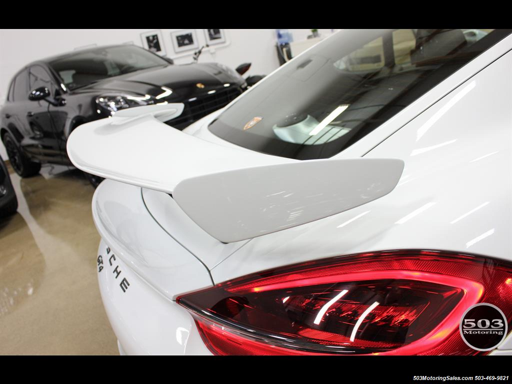 2016 Porsche Cayman GT4; White w/ Full Bucket Seats & 3k Miles! - Photo 30 - Beaverton, OR 97005