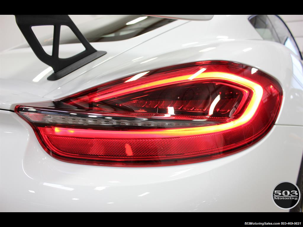2016 Porsche Cayman GT4; White w/ Full Bucket Seats & 3k Miles! - Photo 28 - Beaverton, OR 97005