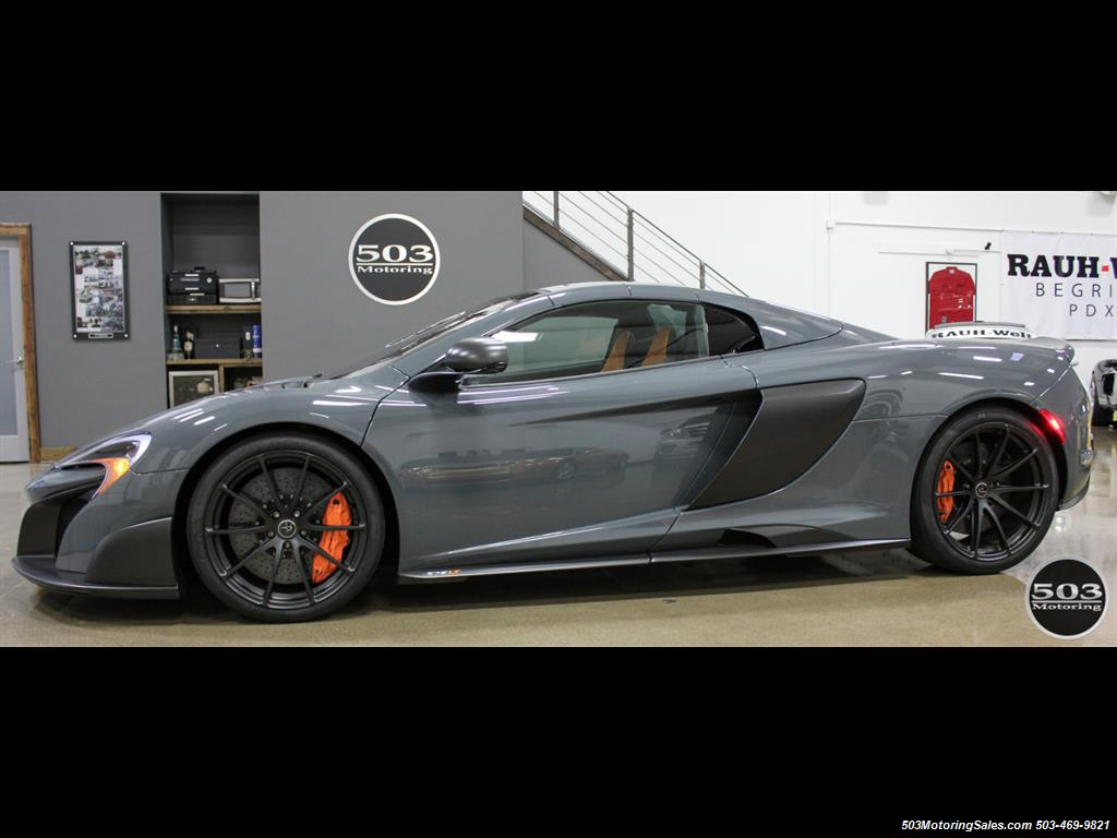 2016 McLaren 675LT Spider; Perfectly Specced Chicane Gray One Owner! - Photo 2 - Beaverton, OR 97005
