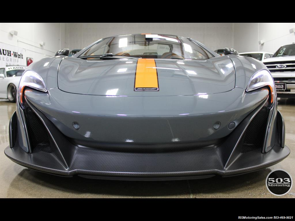 2016 McLaren 675LT Spider; Perfectly Specced Chicane Gray One Owner! - Photo 8 - Beaverton, OR 97005