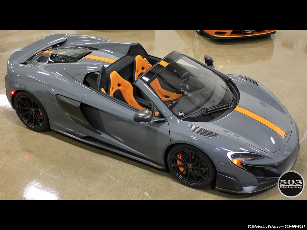 2016 McLaren 675LT Spider; Perfectly Specced Chicane Gray One Owner! - Photo 13 - Beaverton, OR 97005