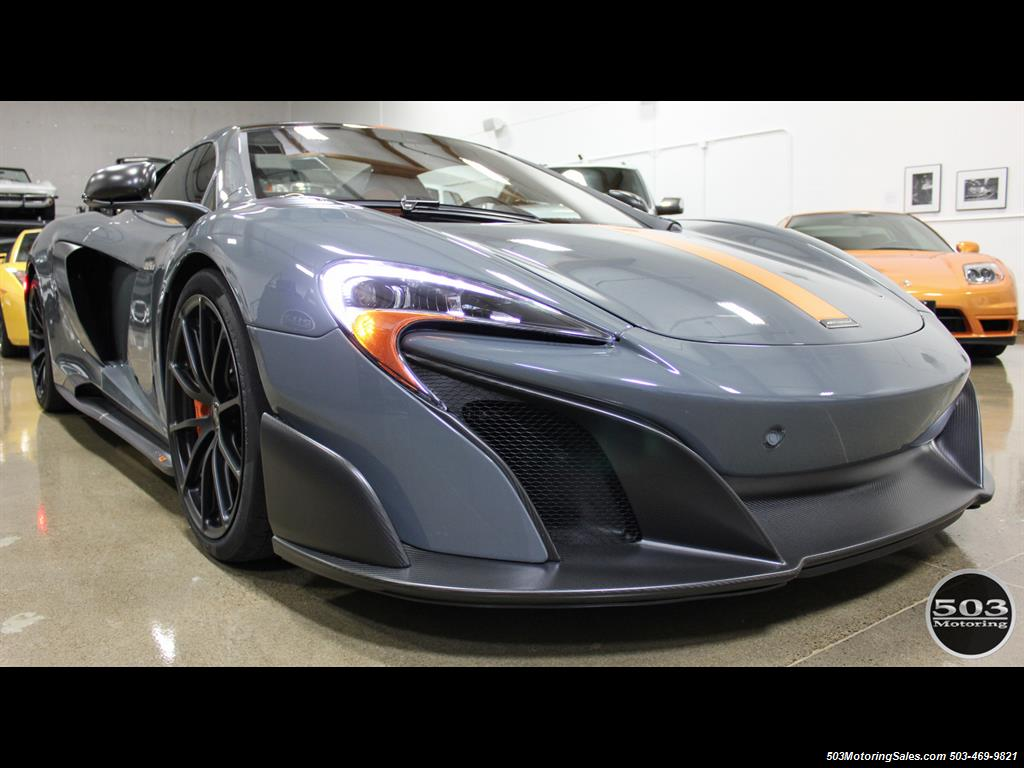2016 McLaren 675LT Spider; Perfectly Specced Chicane Gray One Owner! - Photo 7 - Beaverton, OR 97005