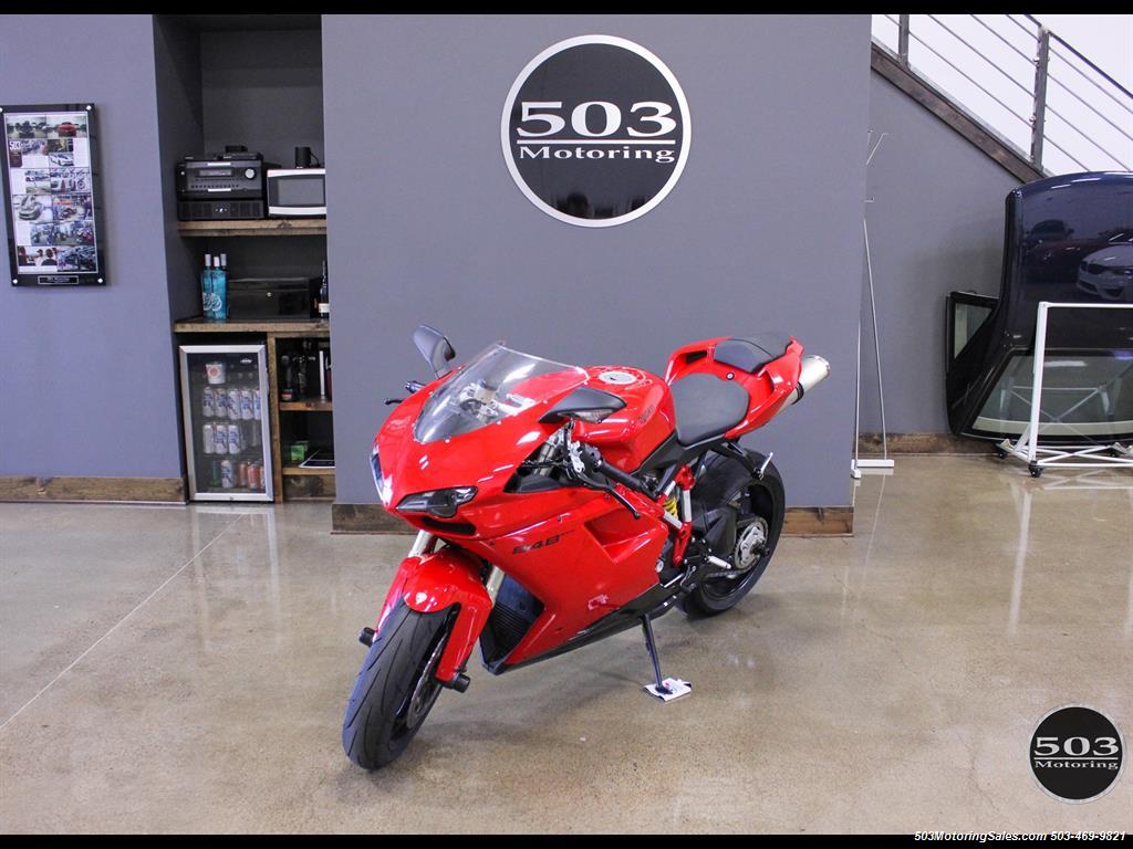 2012 Ducati Superbike 848 EVO, Fully Serviced w/ New Tires!