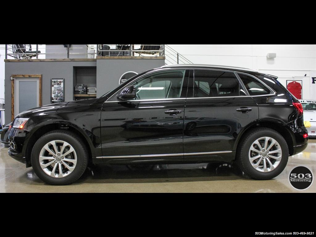2015 Audi Q5 2.0T quattro Premium Plus; Black/Black w/ 23k! - Photo 2 - Beaverton, OR 97005