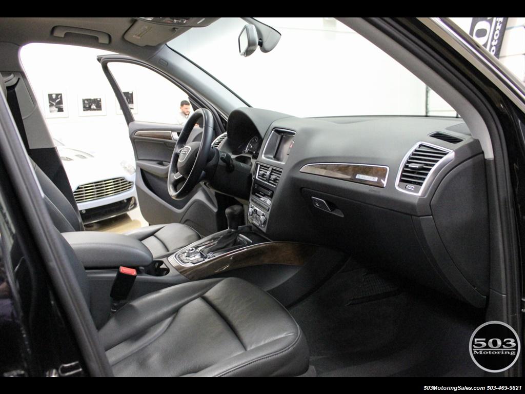 2015 Audi Q5 2.0T quattro Premium Plus; Black/Black w/ 23k! - Photo 35 - Beaverton, OR 97005