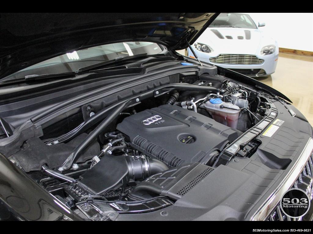 2015 Audi Q5 2.0T quattro Premium Plus; Black/Black w/ 23k! - Photo 50 - Beaverton, OR 97005