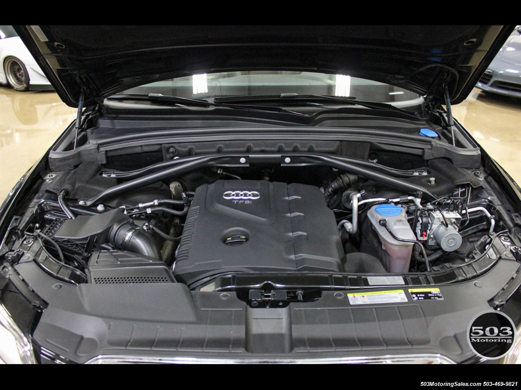 2015 Audi Q5 2.0T quattro Premium Plus; Black/Black w/ 23k! - Photo 48 - Beaverton, OR 97005