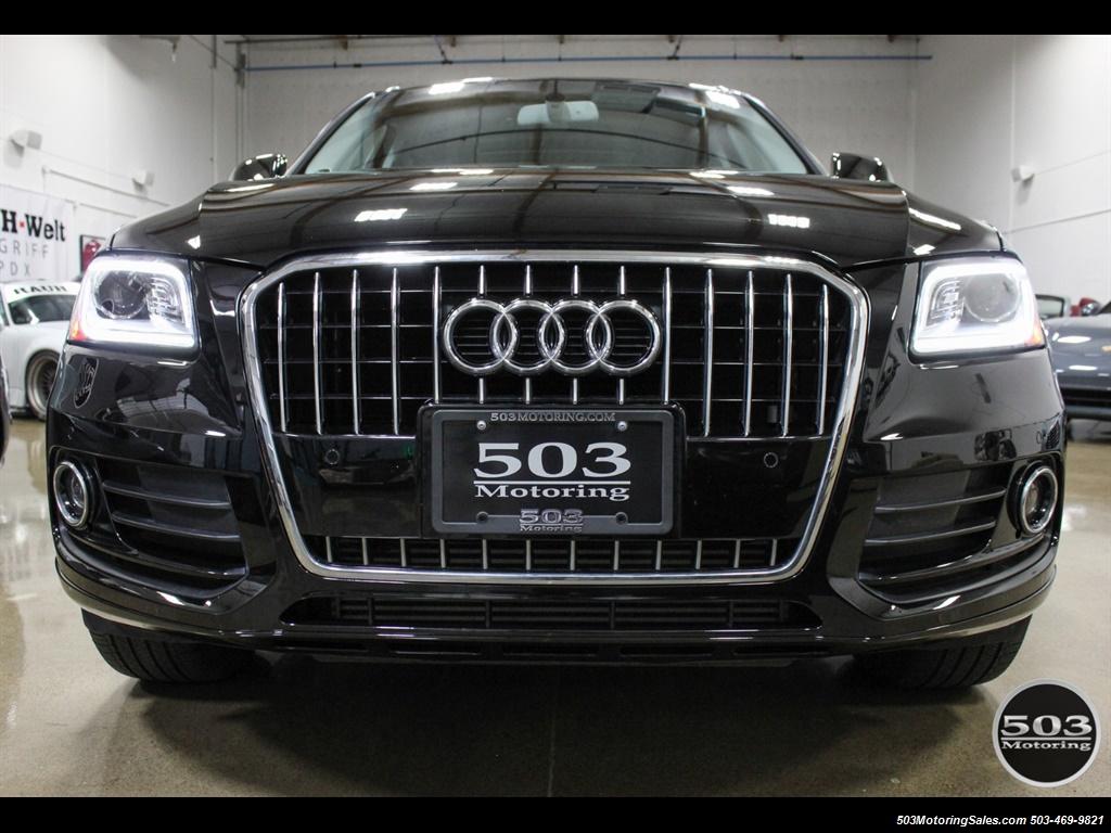 2015 Audi Q5 2.0T quattro Premium Plus; Black/Black w/ 23k! - Photo 8 - Beaverton, OR 97005