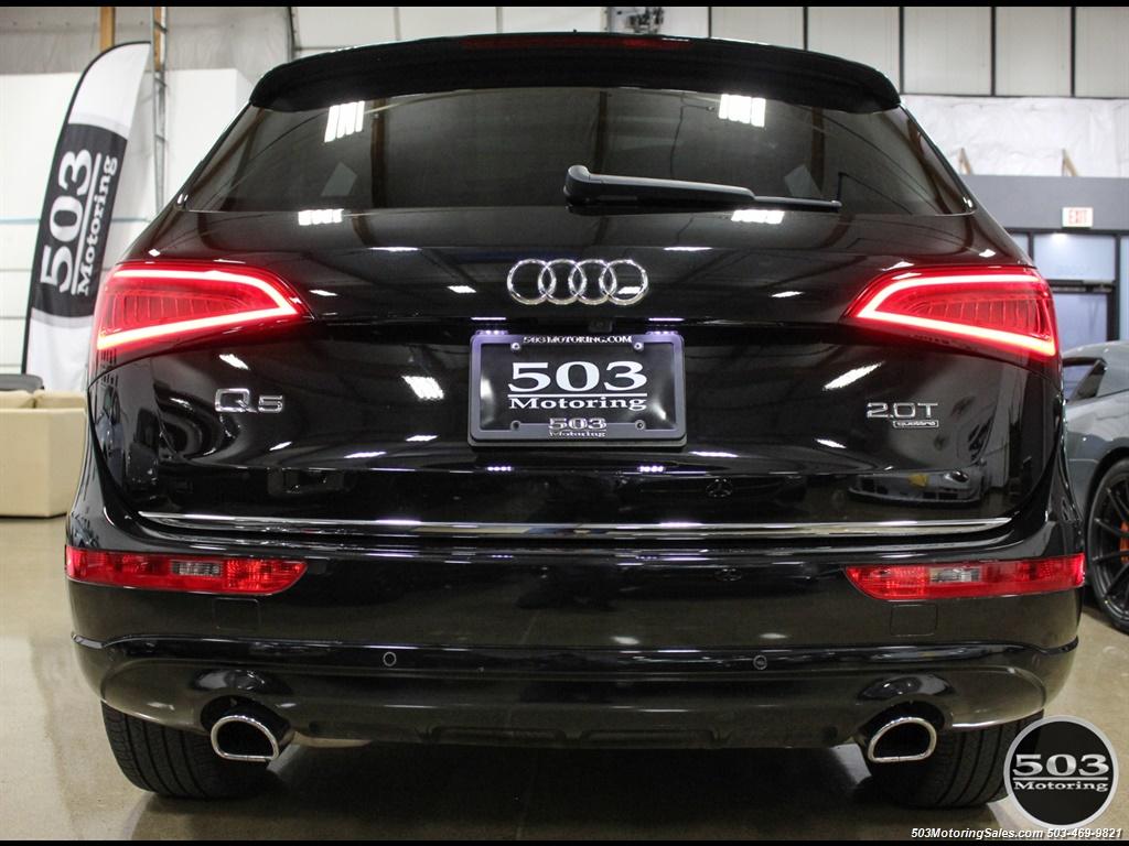 2015 Audi Q5 2.0T quattro Premium Plus; Black/Black w/ 23k! - Photo 4 - Beaverton, OR 97005