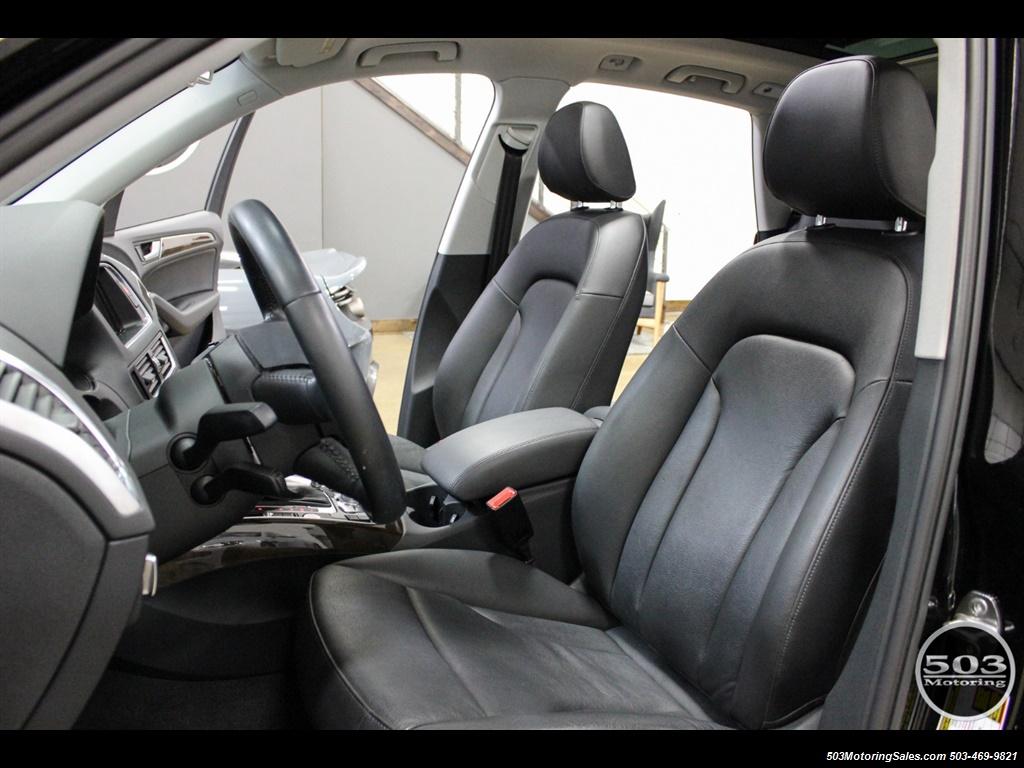 2015 Audi Q5 2.0T quattro Premium Plus; Black/Black w/ 23k! - Photo 28 - Beaverton, OR 97005