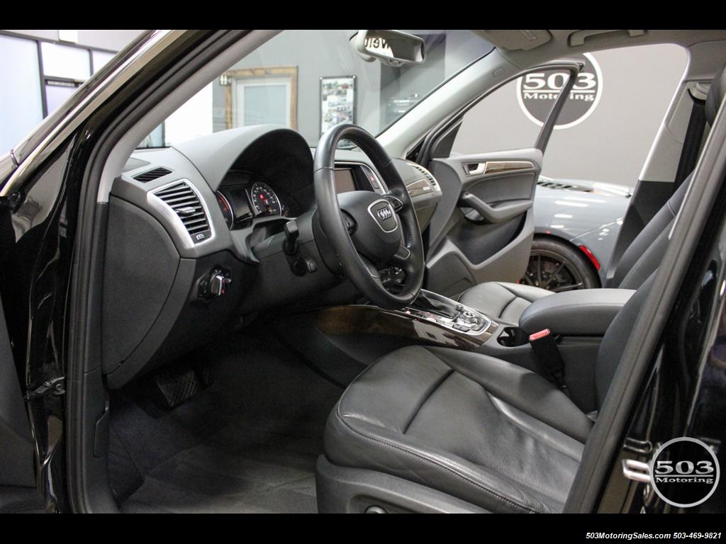 2015 Audi Q5 2.0T quattro Premium Plus; Black/Black w/ 23k! - Photo 25 - Beaverton, OR 97005