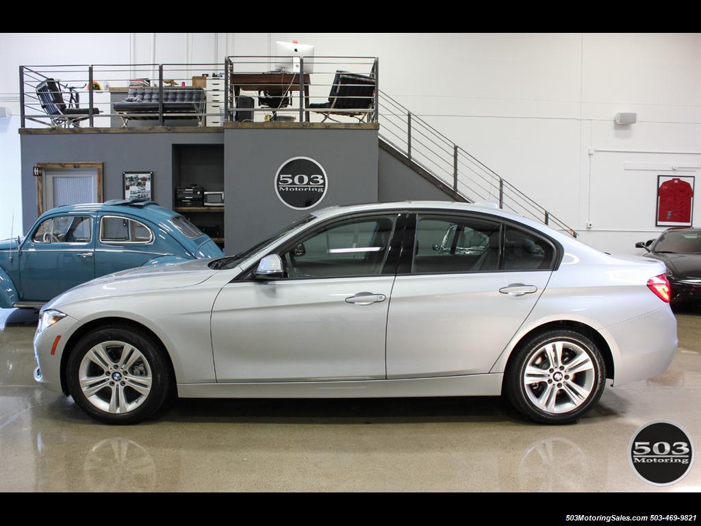 2016 BMW 328I >> 2016 BMW 328i xDrive; Silver/Black w/ Less than 250 Miles!
