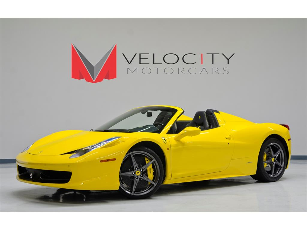 2013 Ferrari 458 Spider For Sale In Nashville Tn Stock