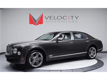 2013 Bentley Mulsanne LeMans Edition Sedan