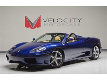 2002 Ferrari 360 Spyder Convertible