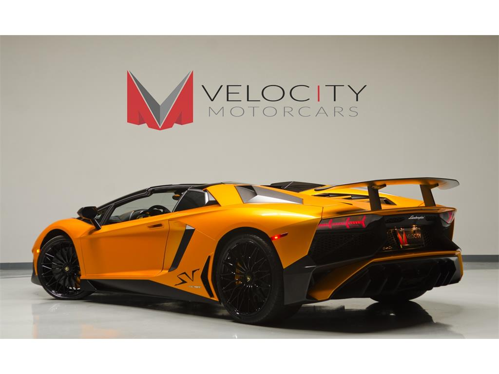 2 Door Convertible >> Velocity Motorcars - Photos for 2016 Lamborghini Aventador LP 750-4 SV Roadster