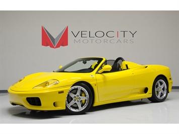 2005 Ferrari 360 Spider Convertible