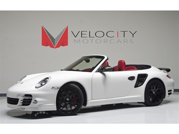2013 Porsche 911 Turbo Cabriolet Convertible