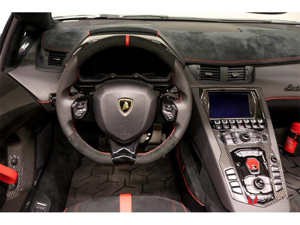 2017 lamborghini aventador lp 750 4 sv roadster for sale for Interior lamborghini
