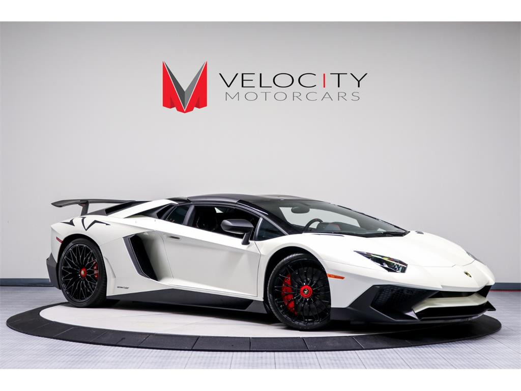 2017 Lamborghini Aventador LP 750,4 SV Roadster for sale in