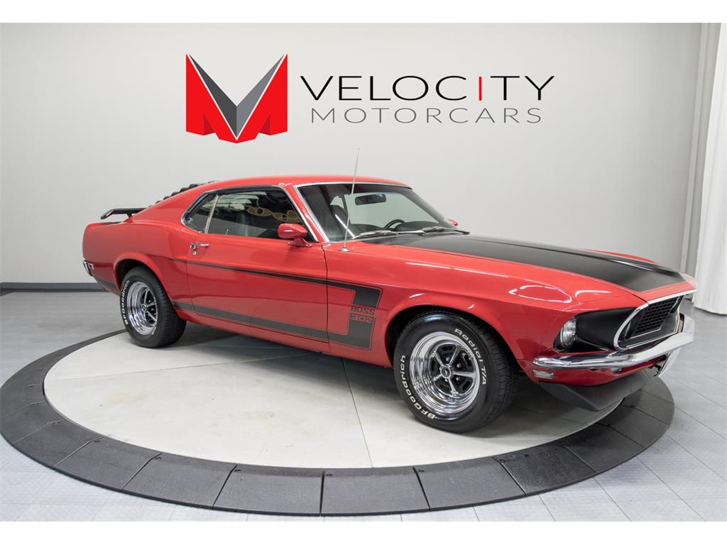 1969 ford mustang boss 302 for sale in nashville tn stock fd189729c. Black Bedroom Furniture Sets. Home Design Ideas
