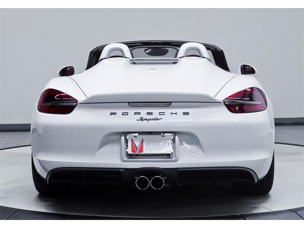 2016 Porsche Boxster Spyder - Photo 36 - Nashville, TN 37217