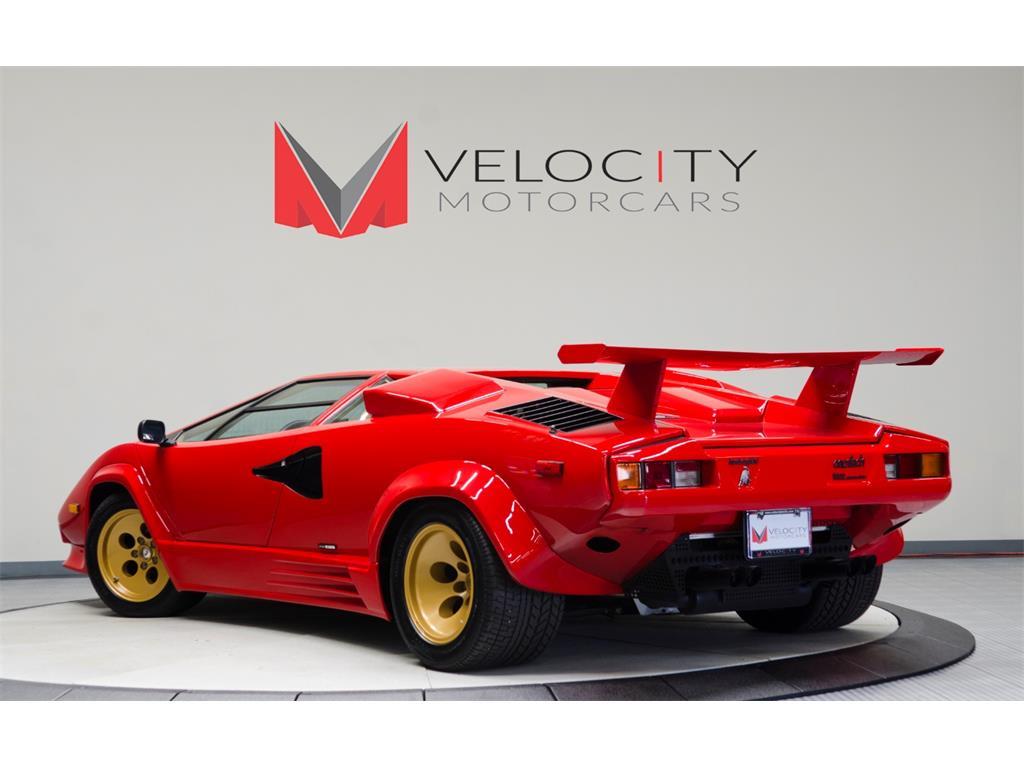 1988 Lamborghini Countach 5000 Quattrovalvole For Sale In Nashville