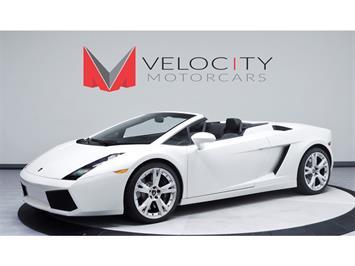 2008 Lamborghini Gallardo Spyder Convertible