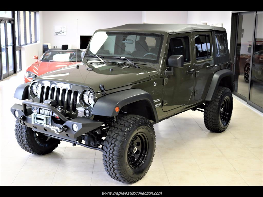 2016 Jeep Wrangler Unlimited Sport - Photo 2 - Fort Myers, FL 33967