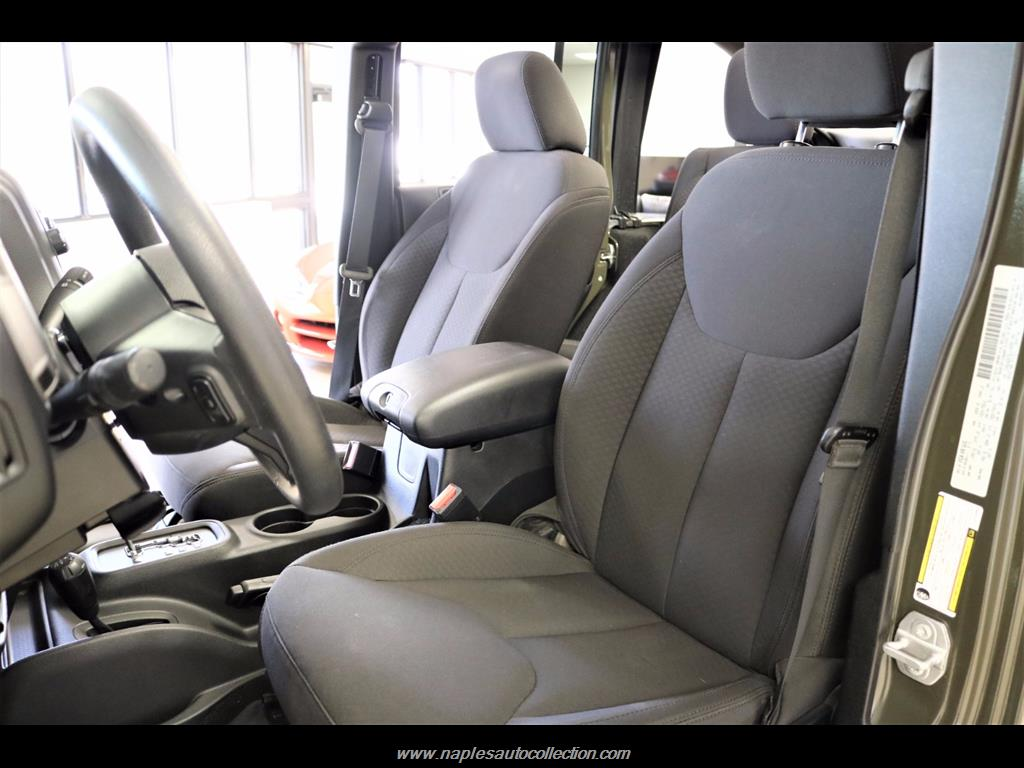 2016 Jeep Wrangler Unlimited Sport - Photo 31 - Fort Myers, FL 33967