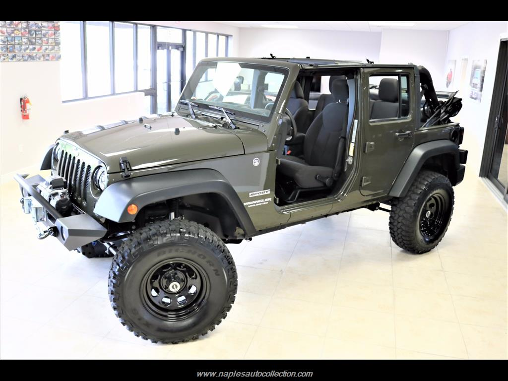 2016 Jeep Wrangler Unlimited Sport   Photo 4   Fort Myers, FL 33967