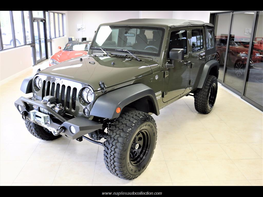 2016 Jeep Wrangler Unlimited Sport - Photo 1 - Fort Myers, FL 33967