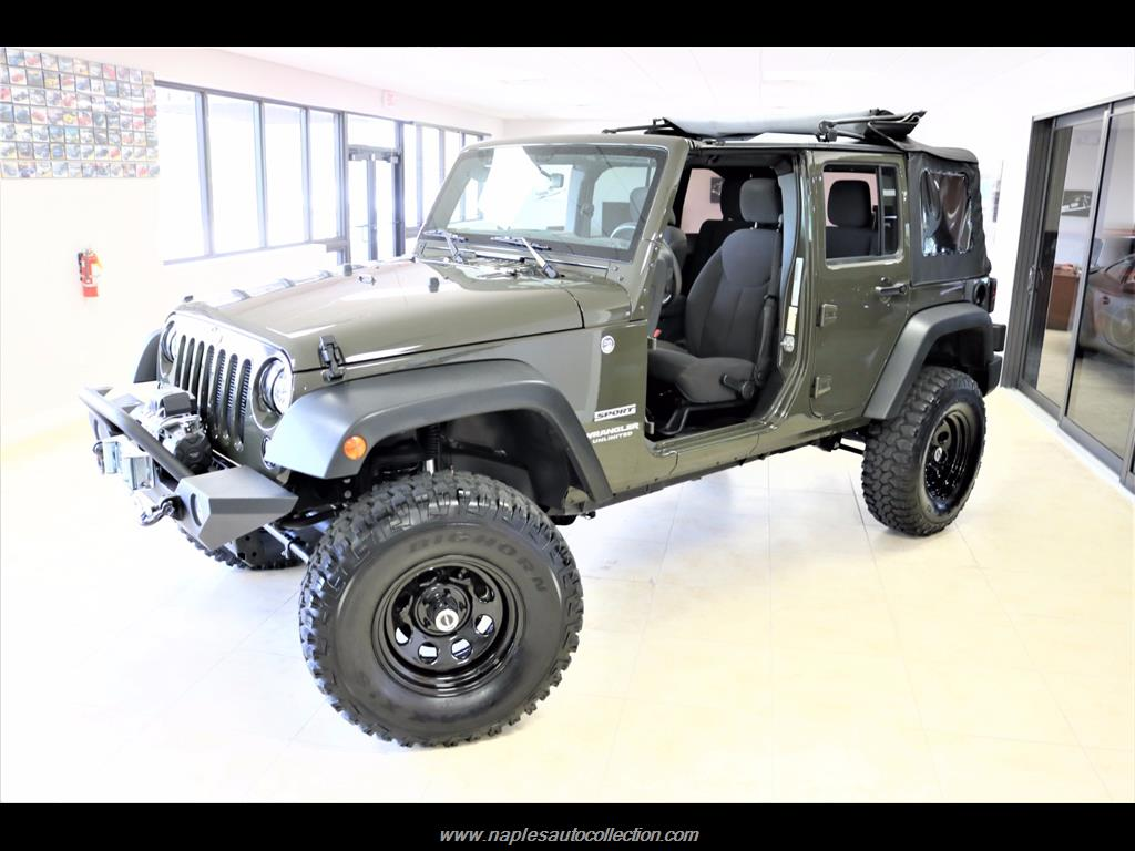 2016 Jeep Wrangler Unlimited Sport - Photo 20 - Fort Myers, FL 33967