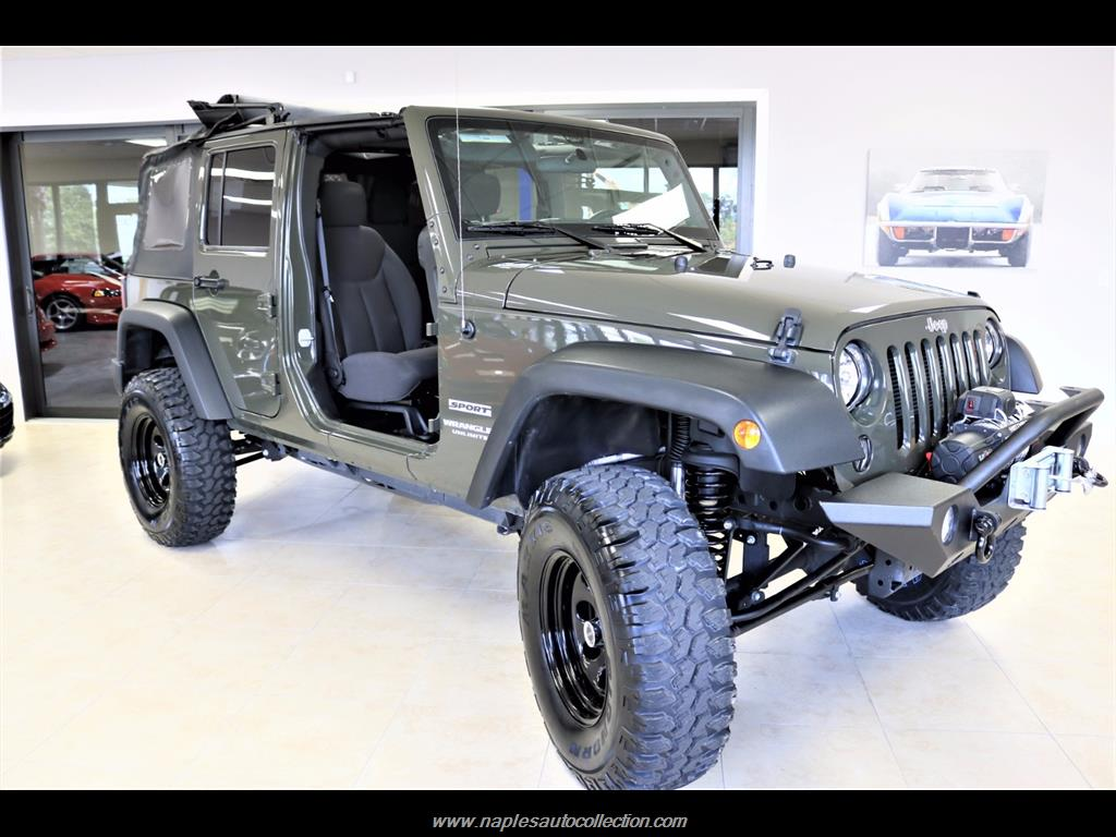 2016 Jeep Wrangler Unlimited Sport - Photo 22 - Fort Myers, FL 33967