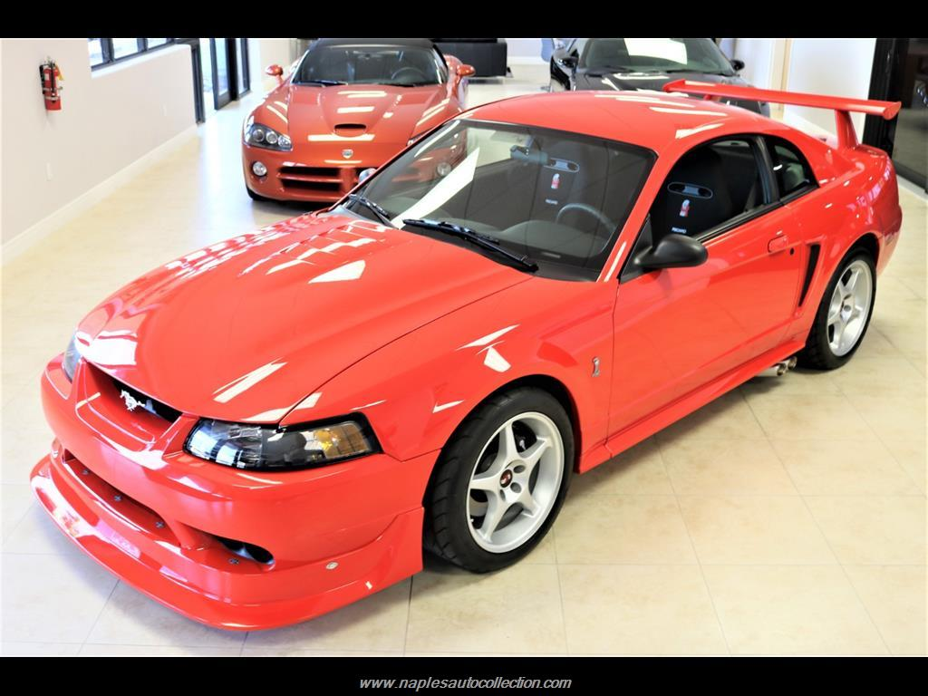 2000 ford mustang svt cobra r for sale in naples fl stock 223517. Black Bedroom Furniture Sets. Home Design Ideas