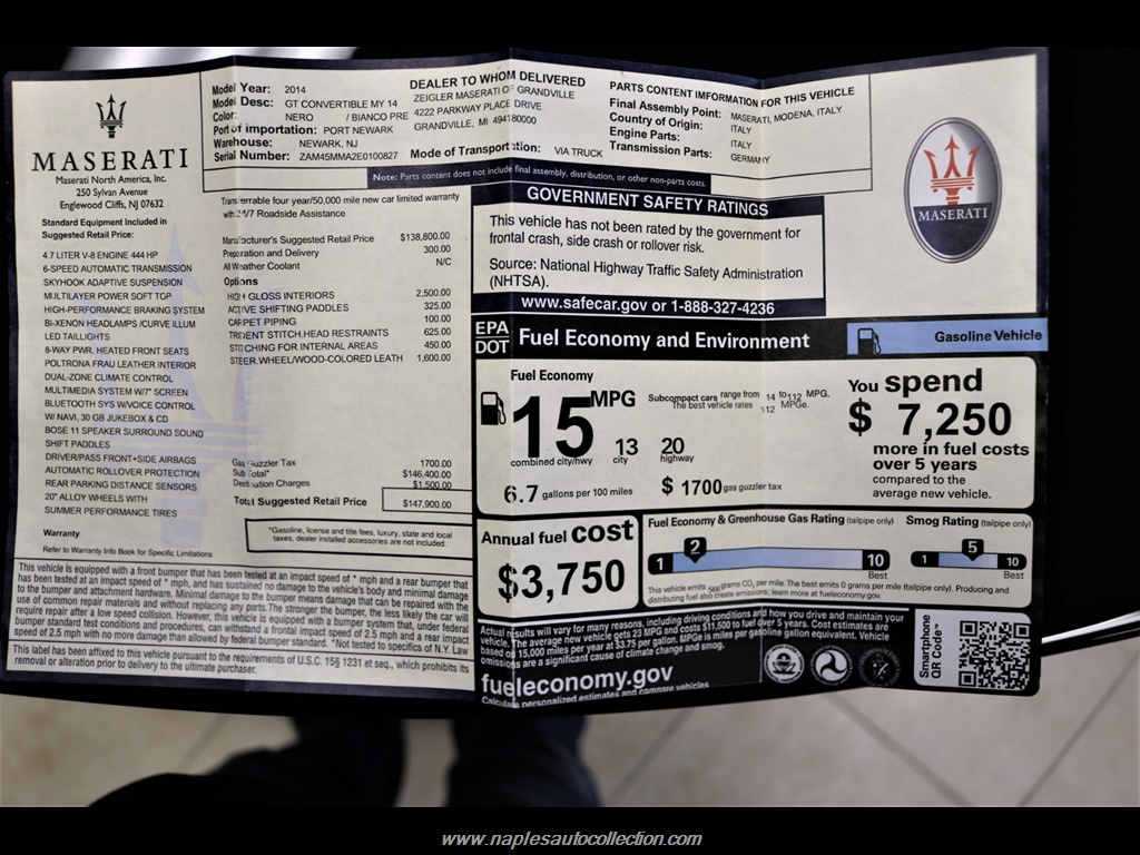 2014 Maserati Gran Turismo - Photo 50 - Fort Myers, FL 33967