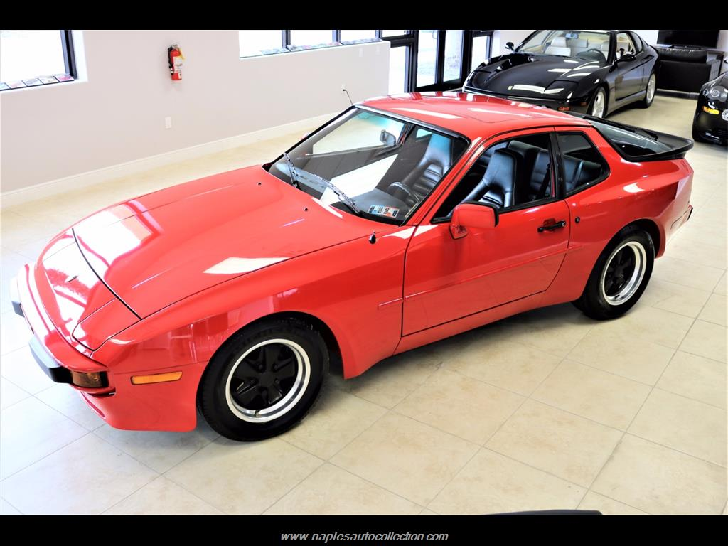 1984 porsche 944 for sale in naples fl stock 462961. Black Bedroom Furniture Sets. Home Design Ideas