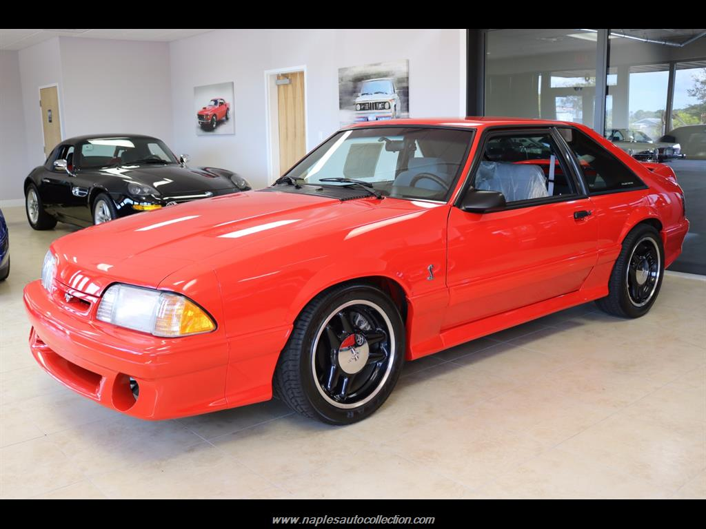 1993 ford mustang svt cobra r photo 1 fort myers fl 33967