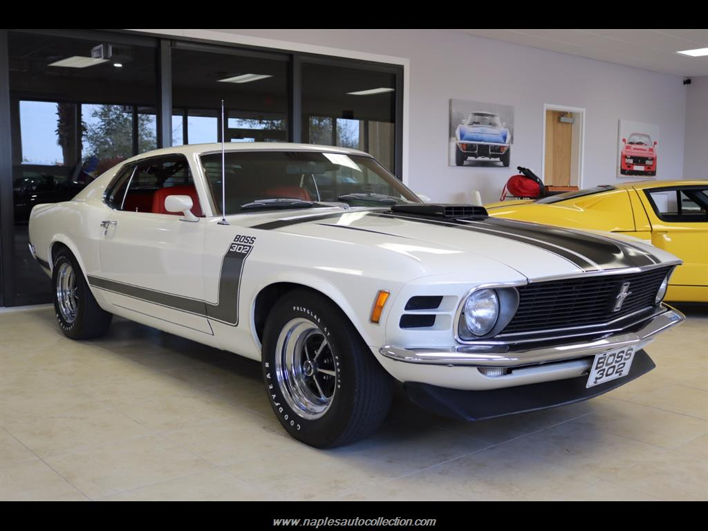 1970 ford mustang boss 302 photo 4 fort myers fl 33967