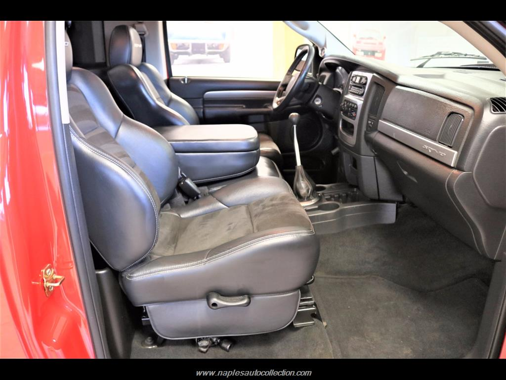 2004 Dodge Ram Pickup 1500 SRT-10 2dr Regular Cab - Photo 30 - Fort Myers, FL 33967