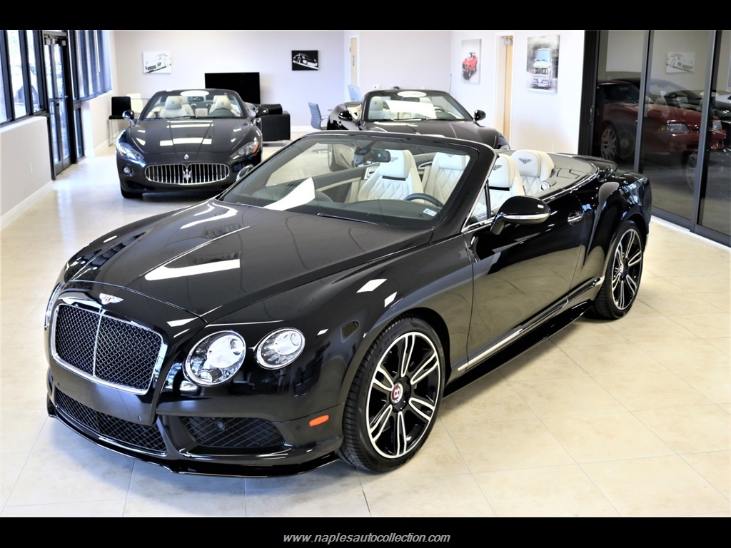 2014 Bentley Continental GT V8 S MULLINER for sale in Naples, FL ...