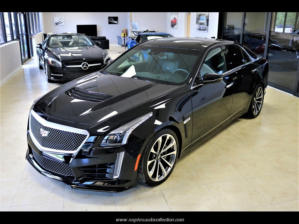 2017 Cadillac Cts V For Sale In Naples Fl Stock 128394