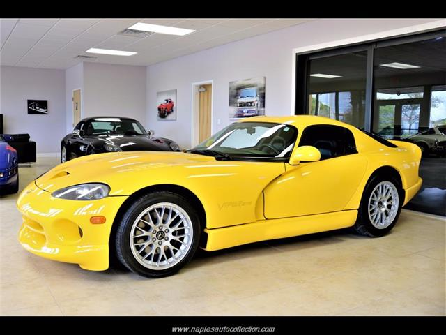Viper Gts For Sale >> 2001 Dodge Viper GTS ACR for sale in Naples, FL | Stock ...