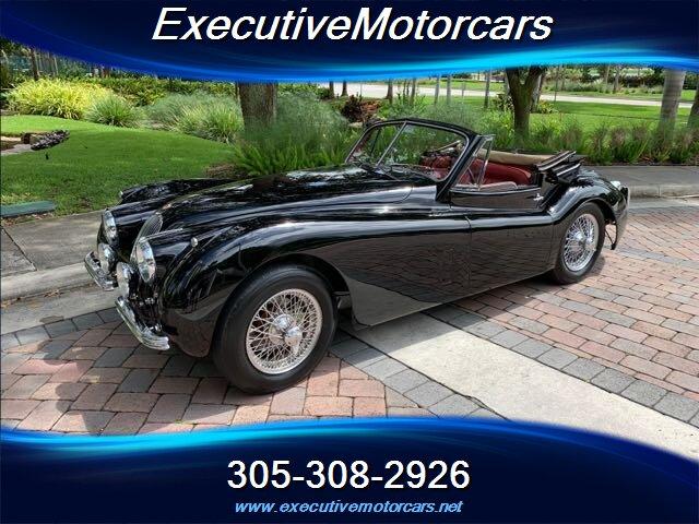 The 1953 Jaguar XK 120 photos